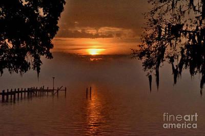 Photograph - Foggy Sunrise by Gary Smith