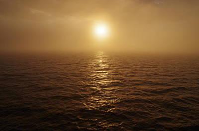 Photograph - Foggy Sunrise by Marilyn Wilson