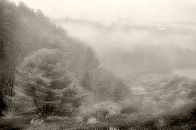 Photograph - Foggy Valley by Emily Stauring
