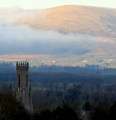 Photograph - Foggy Wicklow  Mountains.  by Joseph Doyle