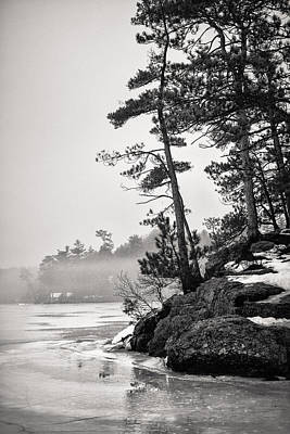 Photograph - Foggy Winnisquam by Robert Clifford