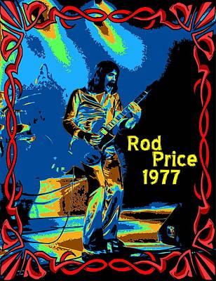 Photograph - Foghat In Spokane 1977 by Ben Upham
