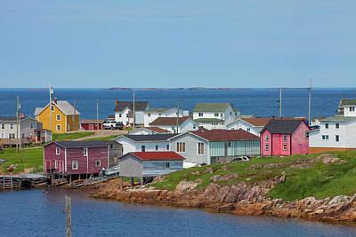 Fogo Island, Newfoundland, Canada Art Print