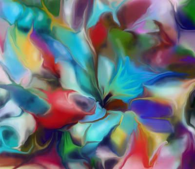 Digital Art - Folded by Ian  MacDonald