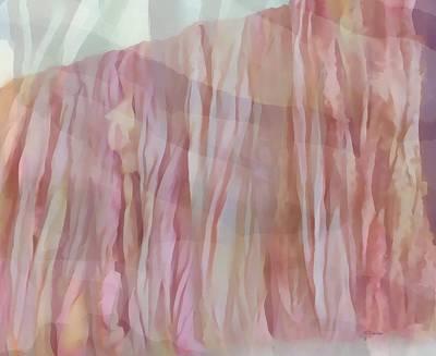 Digital Art - Folds by Peggy Gabrielson