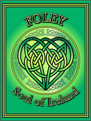 Digital Art - Foley Soul Of Ireland by Ireland Calling