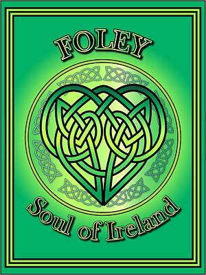 Digital Art - Foley Soul Of Ireland by Ireland Calling