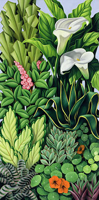 Garden Painting - Foliage by Catherine Abel