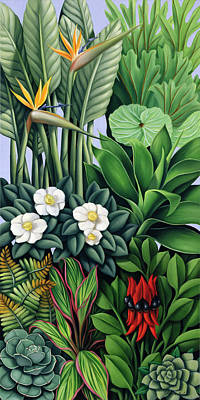 Painting - Foliage II by Catherine Abel