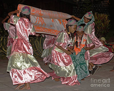 Photograph - folk dance group from Madagascar 2 by Rudi Prott