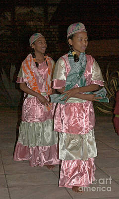Photograph - folk dance group from Madagascar 4 by Rudi Prott