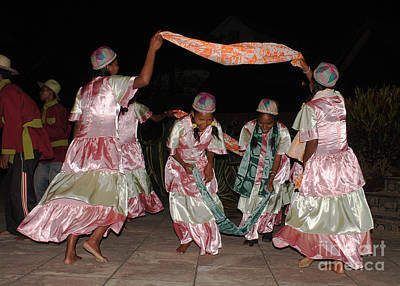 Photograph - folk dance group from Madagascar by Rudi Prott