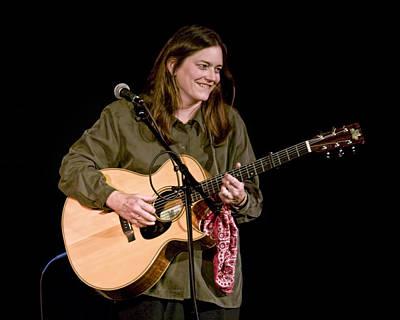 Photograph - Folk Musician Denise Franke by Randall Nyhof