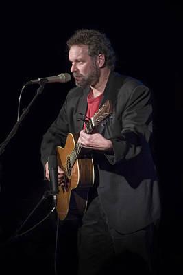 Photograph - Folk Singer Songwriter John Gorka by Randall Nyhof