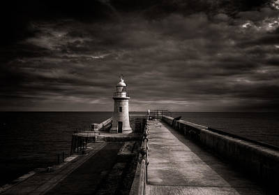 Folkestone Lighthouse Art Print