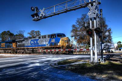 Photograph - Folkston Csx 02 by Donald Williams