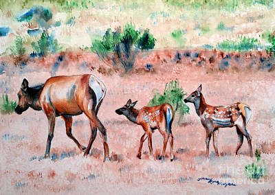 Painting - Follow Me Children by Tracy Rose Moyers