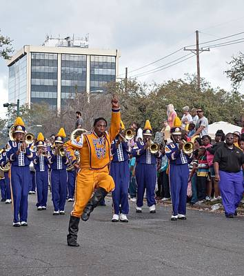 Marching Band Photograph - Follow Me by Steve Harrington
