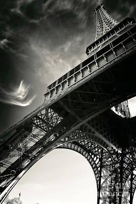 Photograph - Follow The Eiffel Tower by John Rizzuto