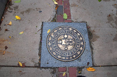 Photograph - Follow The Freedom Trail by Brenda Kean