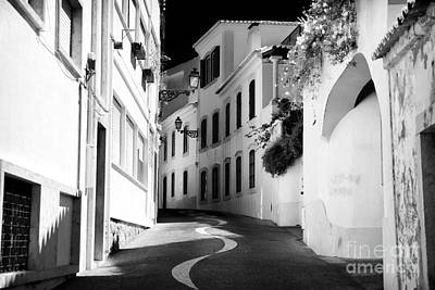 Photograph - Follow The Road In Cascais by John Rizzuto