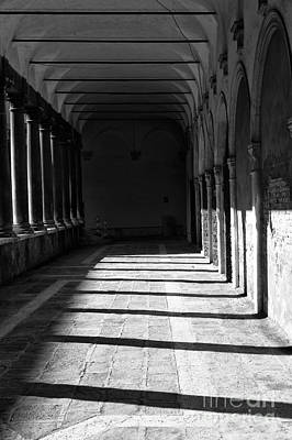 Photograph - Follow The Shadows In Venice by John Rizzuto