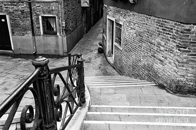 Photograph - Follow The Way In Venice by John Rizzuto