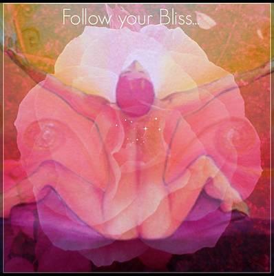 Painting - Follow Your Bliss by Alexandra Florschutz