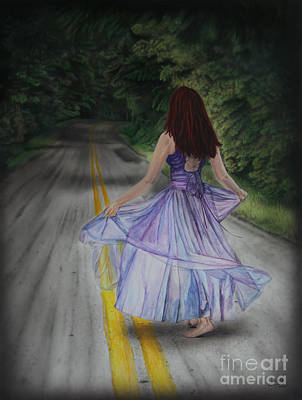Follow Your Path Art Print by Jackie Mestrom