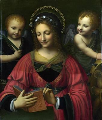 Painting - Follower Of Bernardino Luini by Bernardino Luini