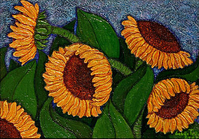Painting - Followers Of The Sun by Madalena Lobao-Tello