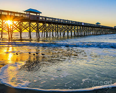 Photograph - Folly Beach by Anthony Heflin