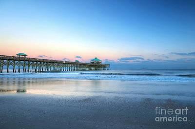 Photograph - Folly Beach Morning by Mel Steinhauer
