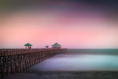Photograph - Folly Beach Pier  by Joye Ardyn Durham