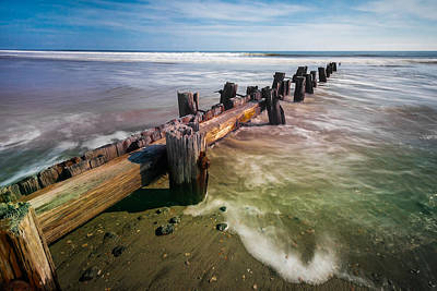 Photograph - Folly Beach by RC Pics