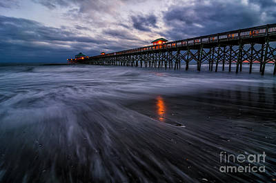 Photograph - Folly Blue Hour by Anthony Heflin