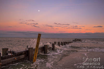 Beach Photograph - Folly Water X Sunset by Philip Jr Photography