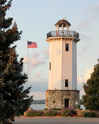 Photograph - Fond Du Lac Lighthouse  by George Jones