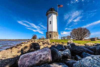 Fond Du Lac Lighthouse Art Print