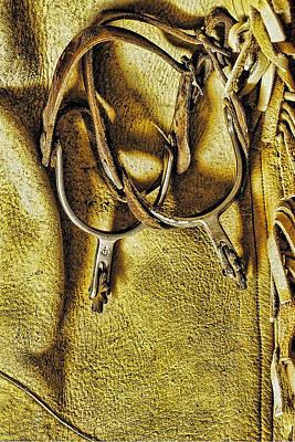 Used Gear Art Print by Nancy Marie Ricketts