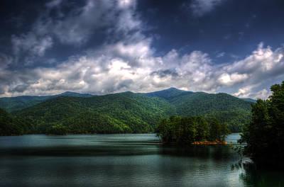 Western North Carolina Photograph - Fontana Lake by Greg and Chrystal Mimbs