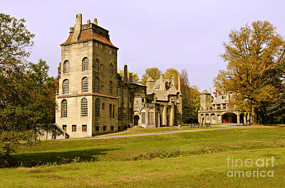 Arts And Crafts Movement Photograph - Fonthill by Addie Hocynec