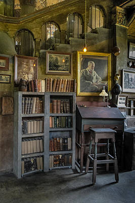Photograph - Fonthill Castle Saloon by Susan Candelario