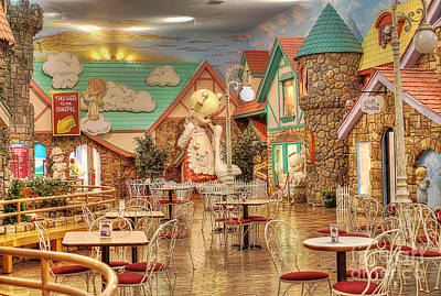 Photograph - Food Court by Liane Wright