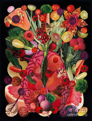 Brain Painting - Food For Thought by Mucha Kachidza