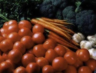 Photograph - Food Group by Errol Wilson