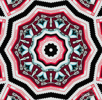 Food Mixer Mandala Art Print by Andy Prendy