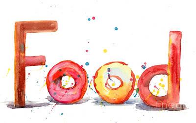 Food Art Print by Regina Jershova