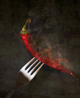 Photograph - Food Spicy Menu Concept  by Svetoslav Sokolov