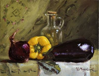 Painting - Food Still Life by Viktoria K Majestic